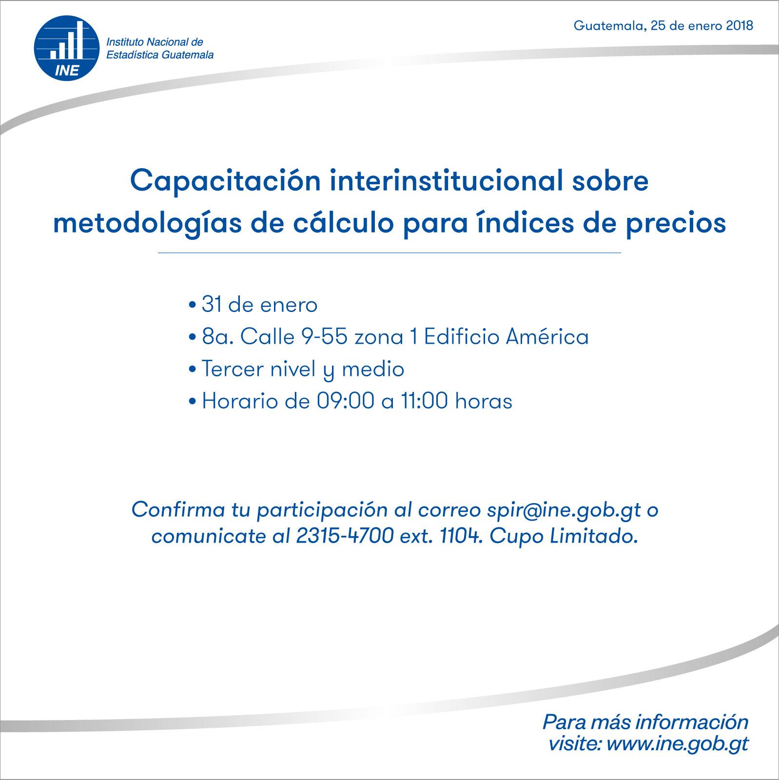 Capacitación sobre metodologías de calculo de Precios de Referencia