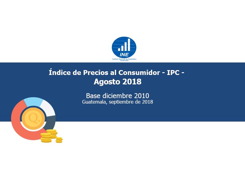 Índice de Precios al Consumidor Agosto 2018
