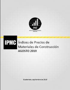 Informe mensual IPMC de Agosto
