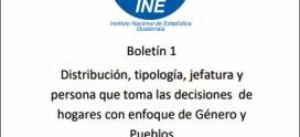 Boletín Género y Pueblos No. 1