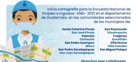 Inicia Cartografía en el departamento de Guatemala