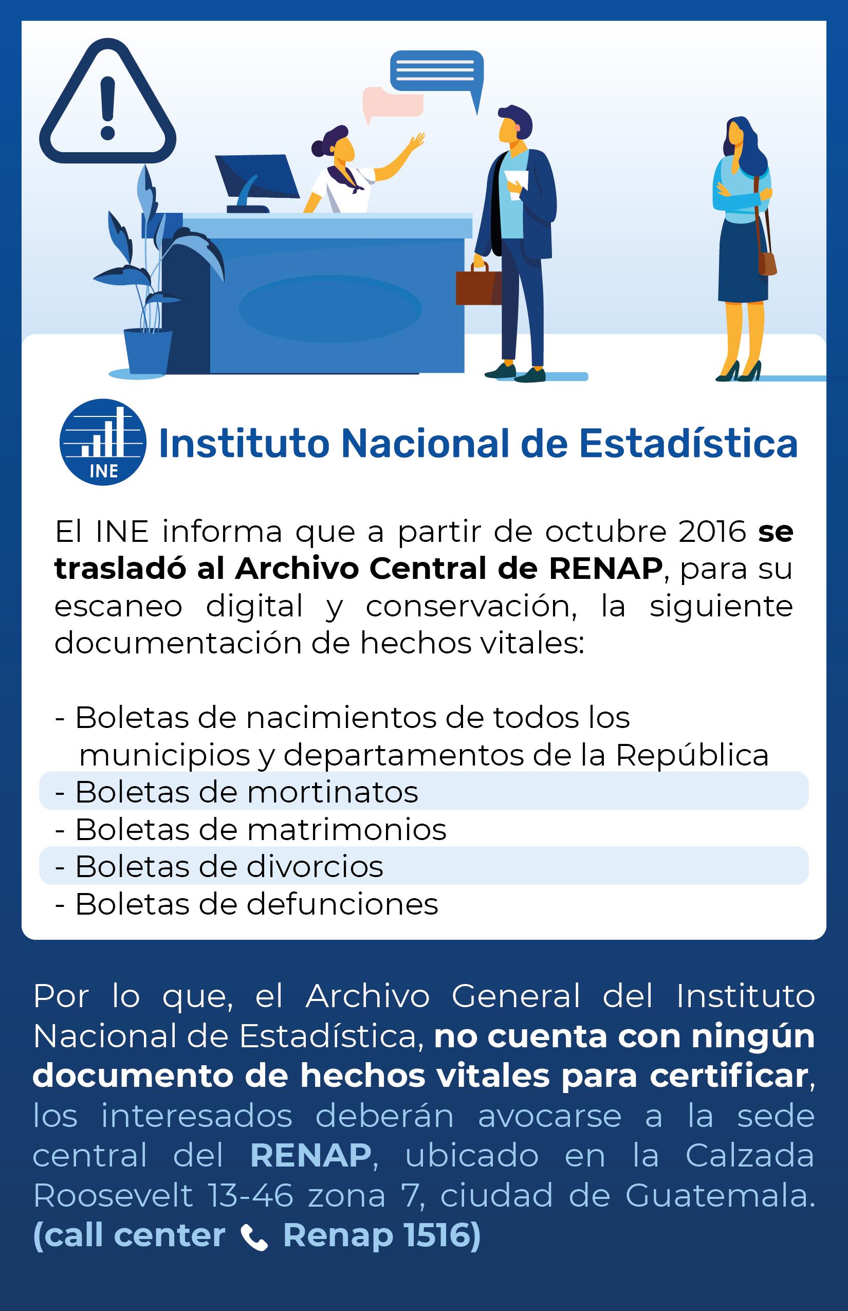 Información RENAP