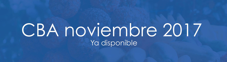Informe mensual al mes de noviembre del costo mensual de la canasta básica alimentaria