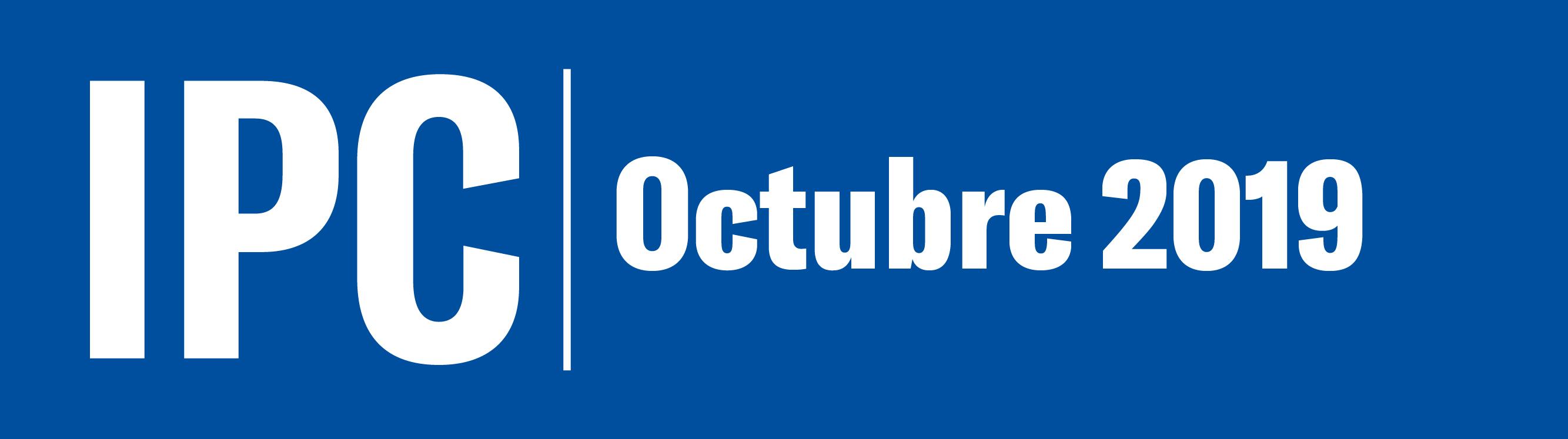 Informe mensual del IPC al mes de octubre de 2019